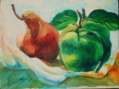 mela e pera