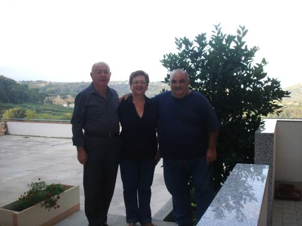 Cesare, Mafalda e Marco