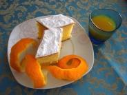 Torta soffice al succo d'arancia