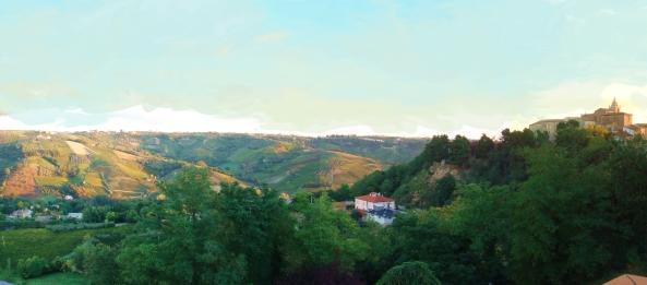 Vista panoramica lato destro della nostra villa