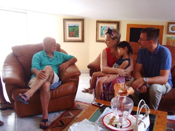 Alfredo, Patrizia e Patric